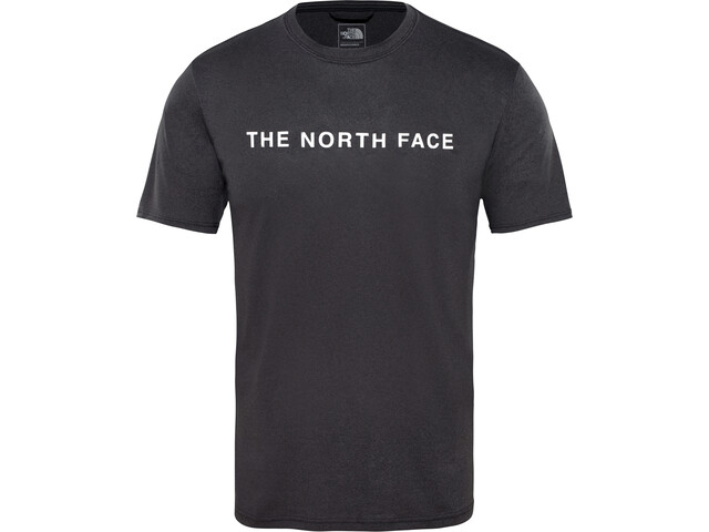 The North Face Train N Logo Koszulka do biegania z krótkim rękawem Mężczyźni, tnf black heather